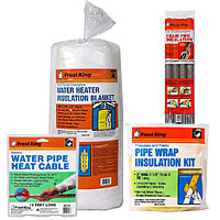 Frost King - Pipe  & Duct Insulation