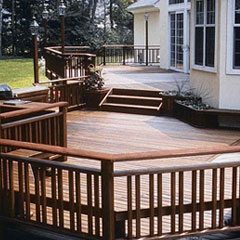 Iron Woods - Wood Decking